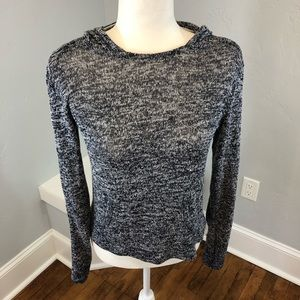 Aeropostale knit hooded Top Sweater Size S